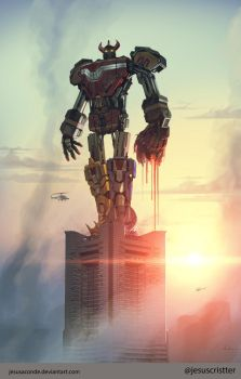 Rangers First time (Megazord) by JesusAConde