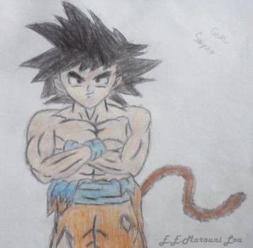 Goku by ElithaEndoraMarouniL