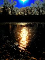 On Golden Pond by Alonewithmyself