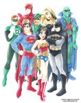 Justice League by Laurie B by ArtofLaurieB