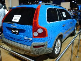 LEGO Volvo by Flame-XD