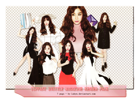 (Render pack #18) - Tiffany INSTYLE Magazine by Luhye
