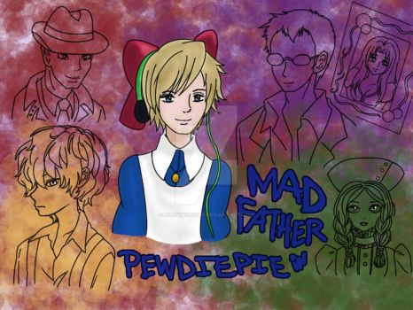 Pewdiepie in MAD FATHER by LuffyNoTomo