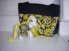 My Little Pony Custom Sun Kiss by colorscapesart