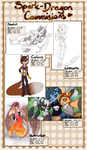 Commission sheet 2016 by Spark-Dragon