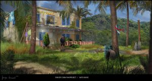 far cry cuba fan project SAFE HOUSE by keyholestyle
