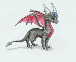 Just a Cynder pic by IcelectricSpyro