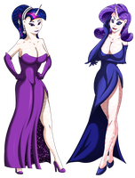 Request: Crystal Twilight and Crystal Rarity by Hellbeholder