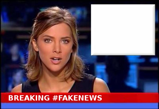 Breaking #FakeNews Meme Template by paradigm-shifting