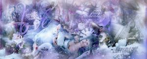 'Cosmic Love' by BxRomance and Lacrumosa by bxromance