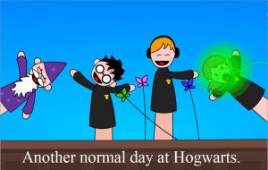 Another Day at Hogwarts by LordofOrangesGuraham
