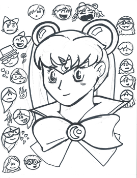 Sailor Moon from Memory by Exclarmation