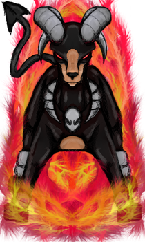 Pokemon Request - Houndoom by dragonfire53511
