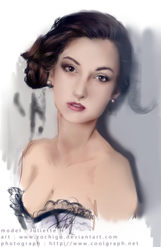 Juliette H - Portrait by Zochigo