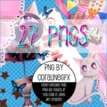 PNG Pack #1 by CoralineGFX