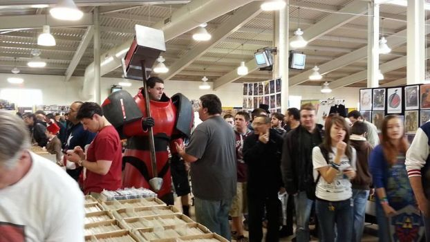 Blood angel invades VA comicon by sangaire