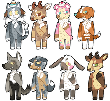 POINT ADOPTABLES!! by P00CHYENA