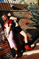 Tifa and Aerith by Eyes-0n-Me