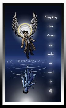 Castiel - Counting Stars by blackbirdrose