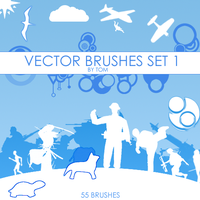 Vector Brushes by neotom130