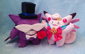 Pokemon: Sailor Clefable and Tuxedo Gengar