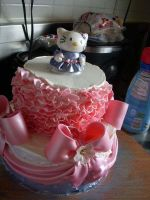 Hello Kitty Cake by KawaiiCostumer