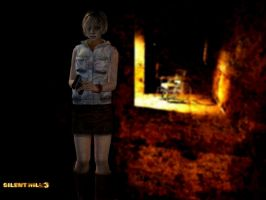 Silent Hill 3 - Heather by AlessaEvian