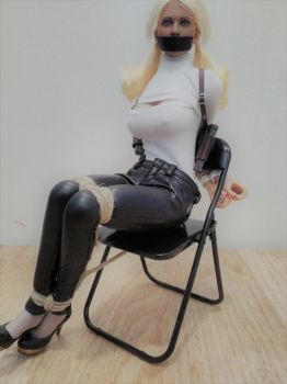 Babydoll chairtied by MissDeli