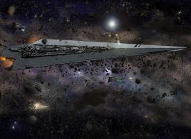 Asteroid Field by Noble--6