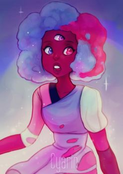 Cotton Candy + Speedpaint Video! by Cyarin