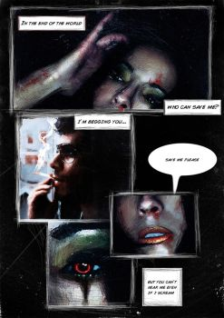 Graphic Novel page by BledRedin