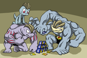 The Machop Family by Zerochan923600