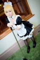 Saber maid by TION2287