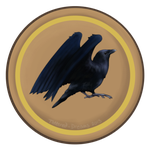 Camp Badges: Raven Tribe by Tattered-Dreams