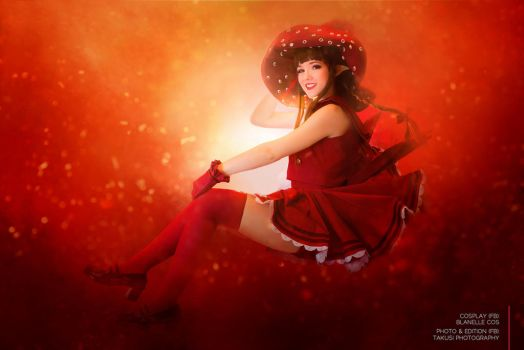 Red witch - Wadanohara and the Great Blue Sea by blanelle29
