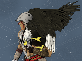 an eagle named freedom (color) by hiropon056