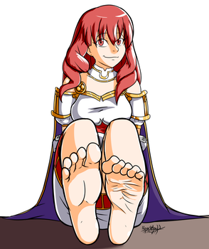 Art Trade: Celica by HowSplendid