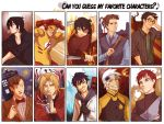 can you guess my fave characters? by viria13