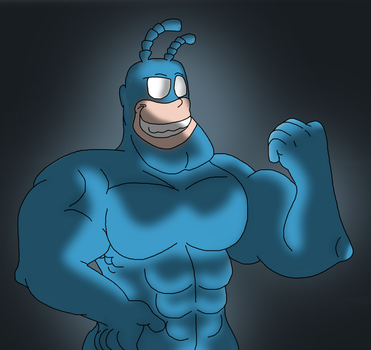 The Tick by Critterz11