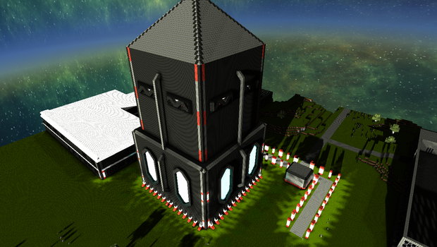 StarMade - Planet Zoro's Main Control Tower by thakyZ