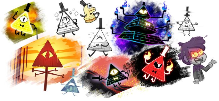 Bill cipher so many forms by CKibe