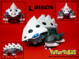 Lairon Papercraft by Skeleman