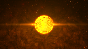 Yellow sun-commision by Archange1Michael