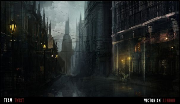 Victorian London by pizdUrRart