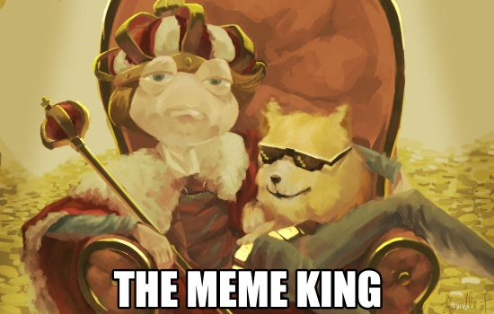 Art Trade-THE MEME KING by SmileyFaceOrg