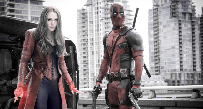 Wade Wilson and Wanda Maximoff | Bad Blood by xLexieRusso2