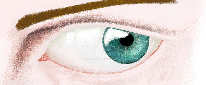 ms paint eye by AmalHasan
