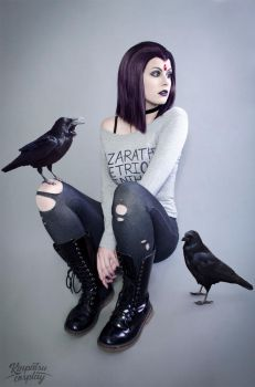 Casual Raven by Kinpatsu-Cosplay