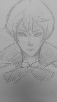 Alois Trancy in my style by Yuilebish