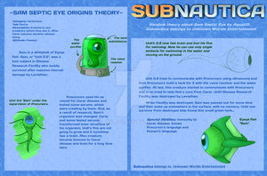 .: Subnautica - Sam's theory reference card :. by AquaGD